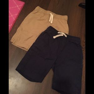 Lot of 2 children's place uniform shorts size 6